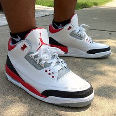 Air Jordan 3 Fire Red - RJ Dela Concepcion <-- THESE ARE OLD AF BUT STILL REAL NICE >.<