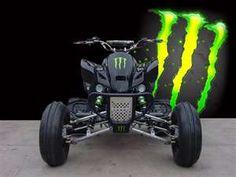 Monster Energy four wheeler. Issa Lee 628d565a19df