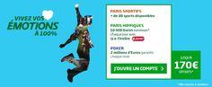 Bonus de 170€ en exclusivité chez PMU Sport.  > http://wallabet.fr/bookmakers/pmu/bonus-pmu/