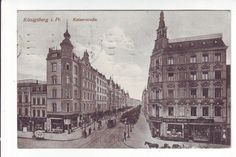 Königsberg - Kaiserstraße - Geschäfte - Feldpost 1915