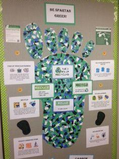 Recycling Bulletin board