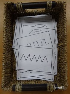 "Mark making pattern cards - from Rachel ("",) All About Me Preschool, Preschool Writing, Writing Activities, Writing Area, Pre Writing, Writing Table, Motor Skills Activities, Fine Motor Skills, Mark Making Early Years"