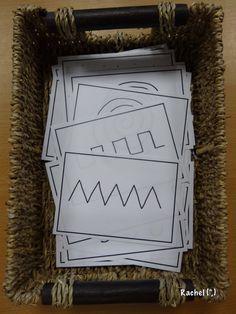 "Mark making pattern cards - from Rachel ("",)"