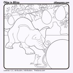 ChloeInAfricaElephant by Fran-atic on DeviantArt Apps, Tablets, Chloe Games, Africa, Painting, Deviantart, Elephant, Painting Art, Paintings