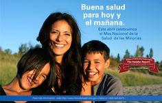Este mes celebramos el Mes Nacional de Salud de la Minorías #NMHM15 visite http://www.FDA.gov/Espanol   #salud #latinos #hispanos