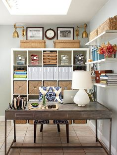 Creative Office Storage Corner Creative Storage Tips And 24 Other Top Home Pins From Better Homes And Gardens Home Pinterest 268 Best Office Storage Ideas Images In 2019 Home Office Decor