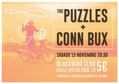 The Puzzles + Conn Bux [live at Black Bird] 1 Puzzles, Black, Blackbird, Projects, Puzzle, Black People