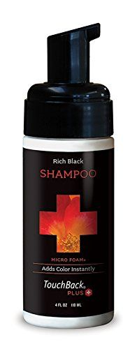 ColorMetrics TouchBack Plus Color Enhancing Shampoo Rich Black >>> Click image to review more details.Note:It is affiliate link to Amazon.