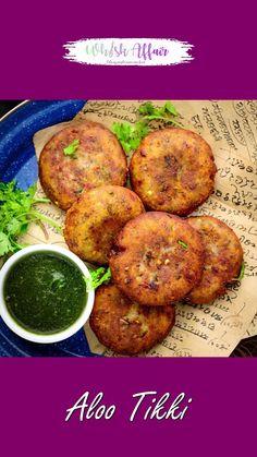 Tasty Vegetarian Recipes, Veg Recipes, Spicy Recipes, Aloo Tikki Recipe, Chaat Recipe, Biryani Recipe, Aaloo Recipe, Spicy Dishes, Indian Dessert Recipes