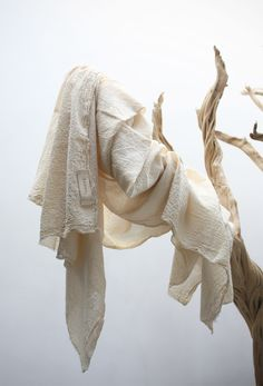 kommaaccessories:    mila scarf (hand dyed with natural pigments)  komma, shop opening this week!    off- white