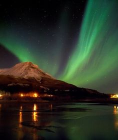 Most of the time auroras are green. However, based on the chemical combination and altitude, one can see pink, yellow, violet and blue colors. Sometimes white and orange colors also appear.