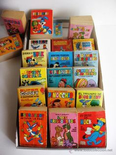Estos son los cuentos que comprábamos en los kioscos en los 70.