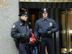 New York Police (NYPD). Policía de Nueva York