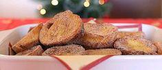 RABANADAS NA AIRFRYER do site TudonaPanela.com.br Rabanada tem gosto de Natal, reunião de família, muito amor envolvido, numa época cheia ...