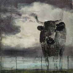 Available for sale, 'Land Ownership', original mixed media with encaustic artwork on board by Sue Hoppe, size 25 x 25 x South African Art, How To Buy Land, Affordable Art, Mixing Prints, Online Art Gallery, Art For Sale, Digital Prints, Moose Art, Artwork