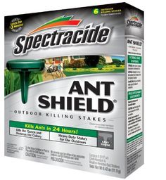 """Shop for Spectrum """"Spectracide"""" Ant Shield Outdoor Stakes - Get free delivery On EVERYTHING* Overstock - Your Online Garden & Patio Shop! Get Rid Of Ants, Insect Pest, Garden Pests, Gardening Supplies, Pest Control, Spectrum, Queen, Count, Child"""