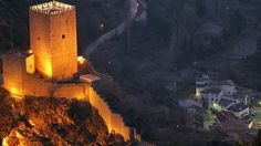 the Yedra Castle in Cazorla, Spain.