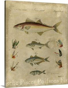 Pisces Composition II #vintage