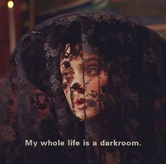 Winona Ryder as Lydia Deetz in the film Beetlejuice.. From my 'Tim Burton's Nightmare World' album