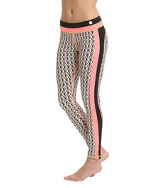 Trina Turk Neo Geo Full-Length Leggings at YogaOutlet.com - Free Shipping