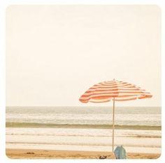 umbrella on the beach.  Love it!