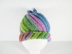 2 façons pour le bonnet spirale - La Grenouille Tricote