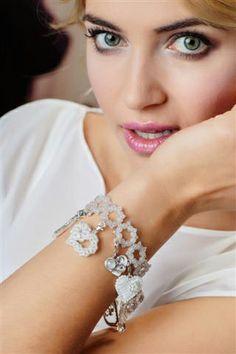 W tym najważniejszyd dniu Twoje życia będziemy z Tobą .Biżuteryjki dla WOŚP Charms, Beads, Diamond, Bracelets, Jewelry, Fashion, O Beads, Charm Bracelets, Jewellery Making