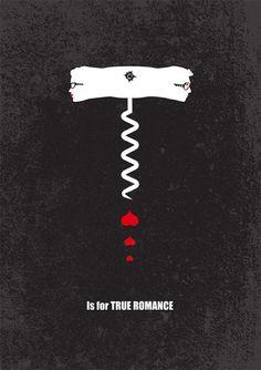 Is for true romance - Minimalist Poster