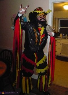 Macho Man Randy Savage - Halloween Costume Contest via @costume_works