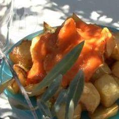 Spanische Kartoffel Tapas (Patatas bravas) @ de.allrecipes.com