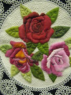 Vintage Roses by Barbara Polston