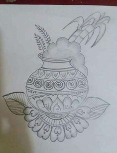 super Ideas for drawing art projects pencil for kids Source by Indian Rangoli Designs, Rangoli Designs Latest, Rangoli Designs Flower, Rangoli Border Designs, Rangoli Designs Images, Mehndi Art Designs, Rangoli Designs With Dots, Rangoli With Dots, Beautiful Rangoli Designs