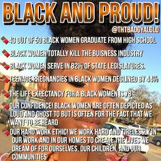 I'm not black but this is for my black sisters out there