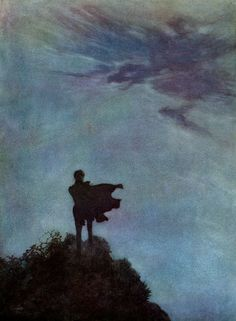 Edmund Dulac Illustrations :: Alone