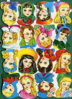 LÁMINA DE CROMOS TROQUELADOS FHER (FB) - Foto 1 Christmas Decals, Pipe Cleaner Crafts, Little Doll, Vintage Ornaments, Vintage Looks, Nostalgia, Scrap, Paper Crafts, Clip Art