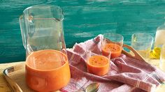 When prepared as they do in southern Spain, zesty gazpacho is more drink than soup, served in a glass instead of a bowl. (Article plus video.)