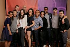 The cast #NightShift