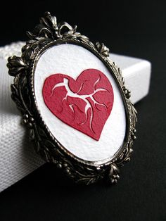PaperCut Heart - very cool with a victorian feel