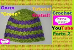 Crochet Tutorial Gorro Bebe