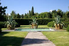 Lepaan miljöö: Barokkipuutarha - Lepaa gardens: Baroque style garden