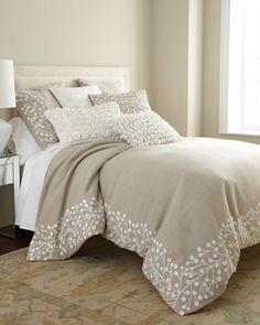 """Callisto Home """"Magnolia"""" Bed Linens"""