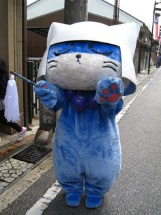 Ohtani-Nyanbu is a character of the shopping malls of Hikone city. #yuruchara