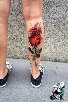 Home - tattoo spirit - , Tattoo artist Dynoz is originally from Greece, but has been at home all over the world for some t - Black Heart Tattoos, Simple Heart Tattoos, Rose Tattoos For Men, Tattoos For Guys, Tattoo Black, Dope Tattoos, Tattoos Masculinas, Body Art Tattoos, Calf Tattoos