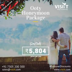 Visiit - Google+ Honeymoon Tour Packages, Ooty, Tourist Places, Travel Deals, Holiday Fun, Tourism, Google, Turismo, Travel