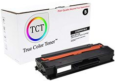 1 Pack TCT Compatible Samsung High Yield Replacement Toner Cartridge Replaces OEM: Box Contains: 1 Black toner cartridge Printer Compatibility: Samsung Xpress Printer Scanner, Toner Cartridge, True Colors, Oem, It Works, Samsung, Quality Printing, Black, Black People