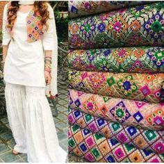 Pakistani Stich Make on Order Salwar Suit With Kachhi Jacket Dress Neck Designs, Stylish Dress Designs, Designs For Dresses, Blouse Designs, Salwar Suit Neck Designs, Stylish Dresses, Simple Pakistani Dresses, Pakistani Dress Design, Pakistani Outfits