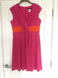 1cb556a8365db Ladies Beautiful Pink Dress By Tiana B. Size 18 BNWT  fashion  clothing