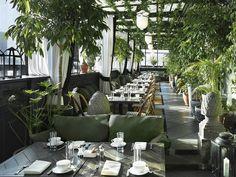 Os mais badalados 'rooftops' de Nova York - Gramercy Terrace, Gramercy Park Hotel