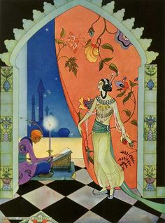 Fairy Tale Illustrations by Virginia Frances Sterrett. on We Heart It. http://weheartit.com/entry/4458219