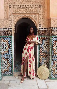 Ideas For Fashion Summer Black Girl Mode Outfits, Fashion Outfits, Fashion Clothes, Look Boho, Spring Summer, Spring Dresses, Maxi Dresses, Dress Summer, Modest Dresses